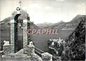 Postcard Modern Seen from Varenna Eremo