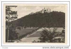 RP: HRAD BUCHLOV, Czech Republic, PU-1937 Castle