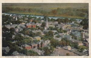 Aerial View of Boyhood Home of George Washington, Fredericksburg,Virginia 30-40s