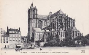 LE MANS, Sarthe, France, 1900-1910's; Apsis Of The Cathedral