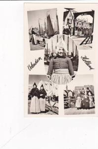 RP, Multi Scenes, Woman & Girls In Traditional Costumes, Volendam (North Holl...