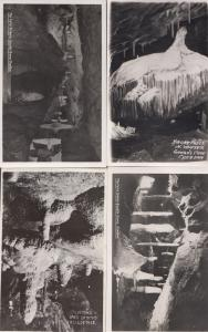 The Fairy Archway Stalactites Niagara Falls 4x Cheddar Caves RPC Postcard s