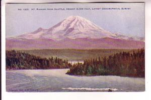 Mount Rainer, Seattle, Washington, Lowman & Hanford