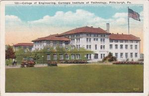 Pennsylvania Pittsburgh College Of Engineering Carnegie Institute Of Technology