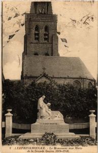 CPA Leffrinkhoucke Le Monument aux Morts de la Grande Guerre 1914-1918 (513390)