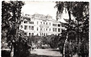 Hungary, BALATONFURED, State Cardiac Hospital, 1964 used Real Photo Postcard
