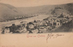 Gruss aus Cochem , Germany , 1900