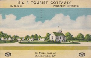 Kentucky Prospect S & R Tourist Cottages 1942 sk1321