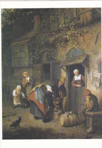The Milk Seller by Cornelis Dusart Barber Institute of Fine Arts University o...