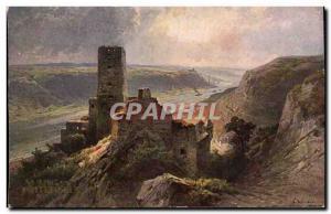 Old Postcard Gutenfels