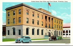 Iowa Waterloo Post Office and Court House Curteich