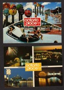 ON Lot 2 Ontario Place Amusement Park Toronto Canada Carte Postales Postcards