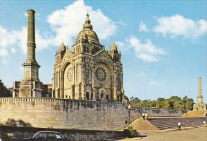 Portugal Viano Do Castelo Church In Saint Lucy Mount