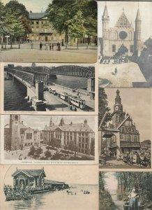 Netherlands Rotterdam Amsterdam Alkmaar And More Postcard Lot of 50 01.06