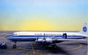 Pan American Airways - DC7 CP   (Aviation)