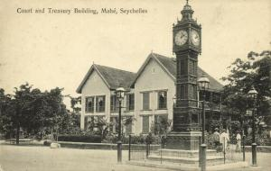 seychelles, MAHE, Court and Treasury Building, Clock (1910s) Ohashi