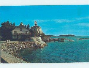 Pre-1980 LODGE SCENE Sebasco Estates - Phippsburg Maine ME AE0650
