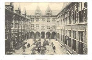 Anvers , Cour du Musee Plantin , Belgium , 00-10s