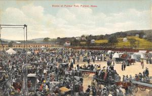 Palmer Massachusetts Fair Ground Birdseye View Antique Postcard K94889
