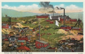 BUTTE, Montana, 1910-30s; Richest Hill in the World