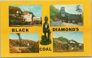 West Virginia - Black Diamonds Coal - multi view mining operations