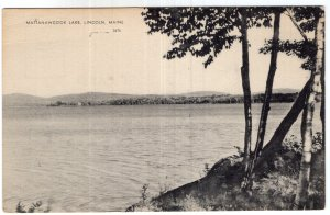 Lincoln, Maine, Mattanawcook Lake