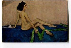 3053233 NUDE Ballerina IDA RUBINSTEIN Vintage Art Nouveau PC