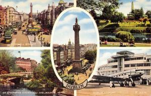 Postcard Vintage DUBLIN Ireland Multiview by Valentine & Sons Ltd