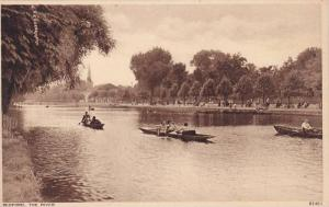 Canooing, The River, Bedford (Bedfordshire), England, UK, 1900-1910s