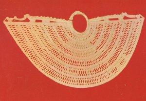Bogota Gold Museum African Nose Pendant Columbia Postcard