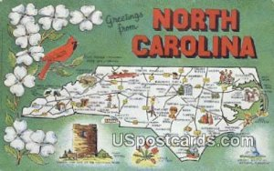 Greetings from, NC