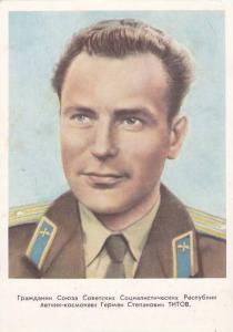 Soviet Union USSR Cosmonaut / Astronaut Portrait , 50-60s #5