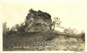 Real Photo - Castle Rock in Lewiston, Minnesota