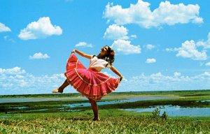 Paraguay - Folk Dancer