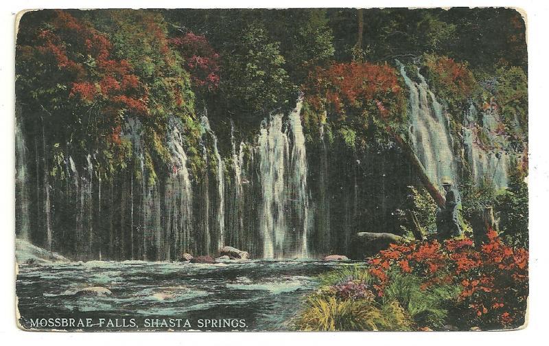 Mossbrae Falls, Shasta Springs, Dunsuir, California