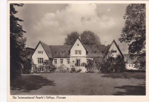 RP, The International People's College, HELSINGOR, Denmark, PU-1954