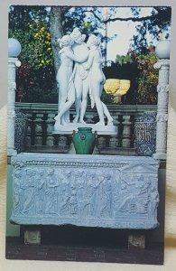 Three Graces Hearst San Simeon California Vintage Postcard