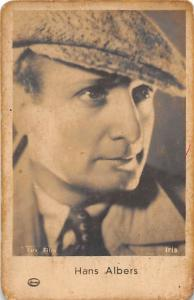 B49375 Hans Albers 5x7cm Actors Acteurs postcard