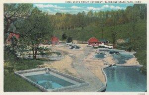 BACKBONE State Park , Iowa , 1910s ; Trout Hatchery