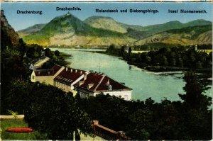 CPA AK Rolandseck und Siebengebirge GERMANY (896622)