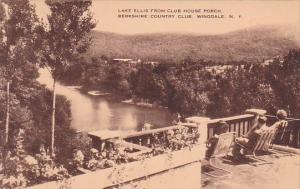 New York Wingdale Lake Ellis From Club House Porch Berkshire Country Club Artvue