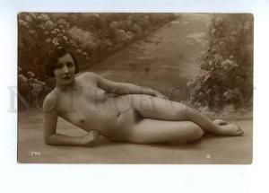 129066 NUDE Woman BELLE Vintage Real PHOTO GA #265 PC
