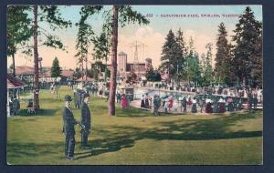 Natatorium Park Spokane Washington unused c1910