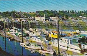Waterfront , Campbell River, Vancouver Island , Canada , 40-60s