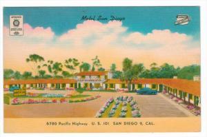 4020  CA  San Diego   Motel San Diego