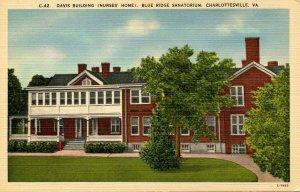 VA - Charlottesville. Blue Ridge Sanatorium, Davis Building