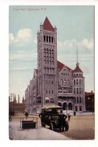 City Hall, Car with Chauffeur, Syracuse, New York