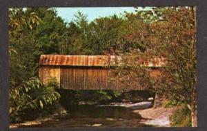 VT Covered Bridge BELVIDERE CORNERS CAMBRIDGE VERMONT