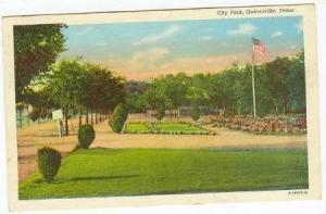 City Park, Gainesville, Texas,1944 PU