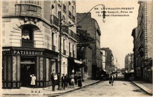 CPA LEVALLOIS PERRET La Rue Raspail (413847)